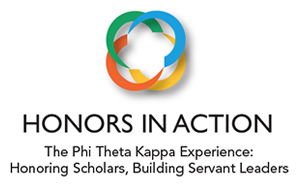 Honors In Action logo